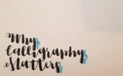 Calligraphy is a lost, important art