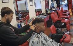 Delgado pursues cutting hair as hobby and career