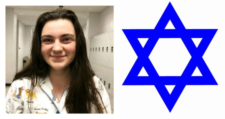 Junior Grace Miller celebrates Jewish traditions during the holiday season.