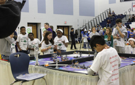 Key Club volunteers for annual LEGO Tournament