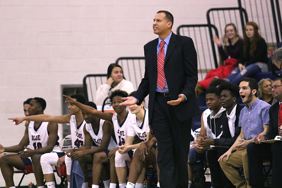 Coach+Don+Burgess+and+the+bench+get+angry+at+a+call.+Despite+leading+the+entire+game%2C+the+Streaks+were+frustrated+at+bad+calls.