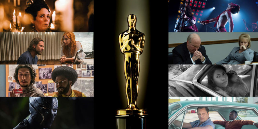 The Best Picture nominations for the 91st Academy Awards.