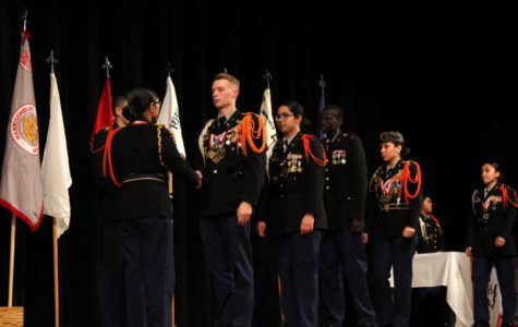 JROTC awards ceremony holds special place for Grodon, Gamboa