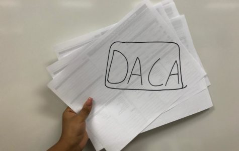 Rodriguez shares a few words for DACA participants
