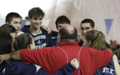 Valley District Duals meet recognizes senior swimmers