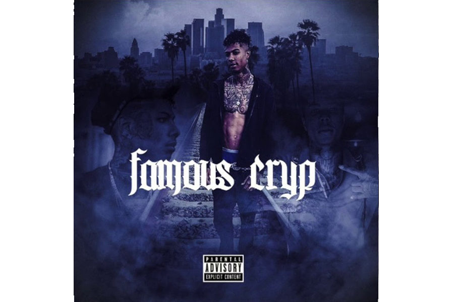 This is the album cover for Blueface's