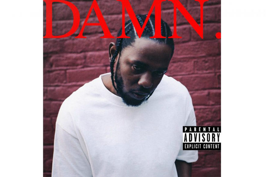 This is the album cover for Kendrick Lamar's