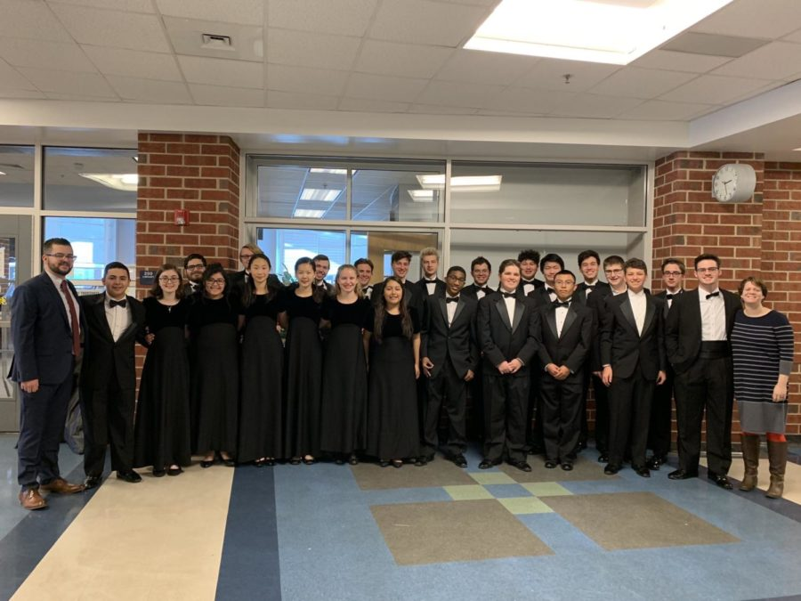 Twenty-six+students+from+the+BlueStreak+Band+represented+HHS+at+the+All-District+Band+event.+Fourteen+out+of+the+26+students+are+qualified+to+audition+for+the+All-Virginia+Band+and+Orchestra.+