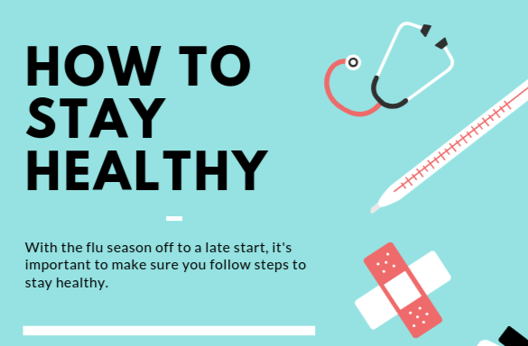 How to stay healthy this flu season.