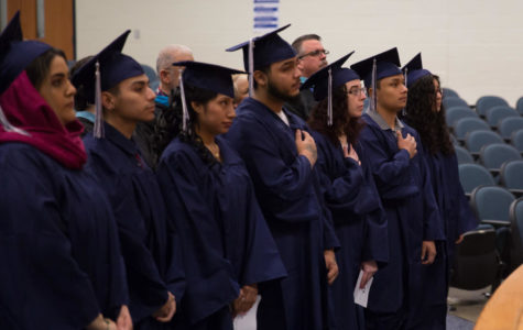 Eight students leave with diploma at winter graduation
