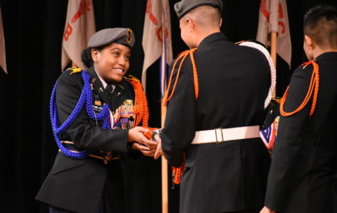 JROTC celebrates students' commitment at awards ceremony