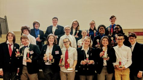 Technology Student Association advances to States