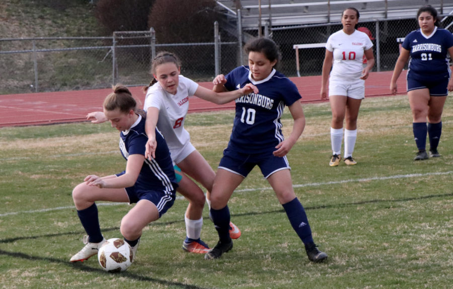 JV girls soccer falls to Fauquier