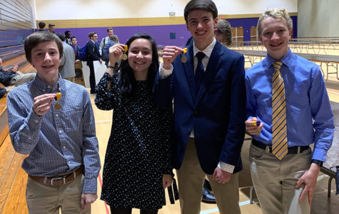 Tongen, Henderson duo advances to state science fair with others