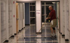 Miller works late hours as night shift janitor