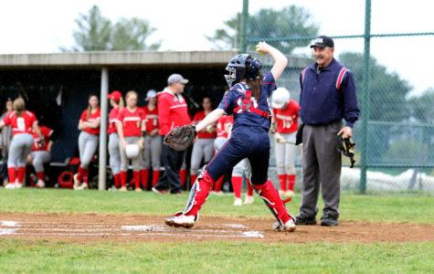 Varsity softball creates new away game traditions