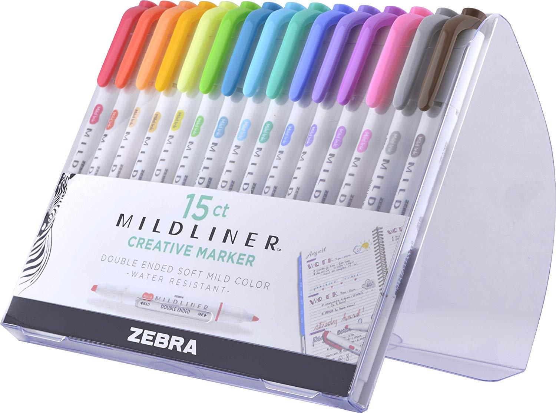 The Zebra Pen Midliner set.