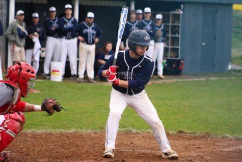 Varsity baseball defeats Spotswood 7-4