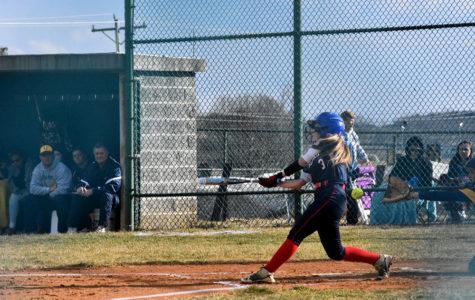 Varsity softball faces off against Fluvanna County