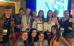 Newsstreak staff members attend national journalism convention