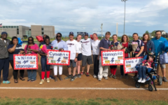 Varsity Softball recognizes players, manager on senior night