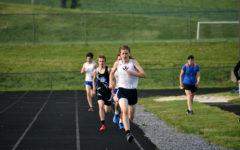 JV track team runs in Harrisonburg JV Invitational