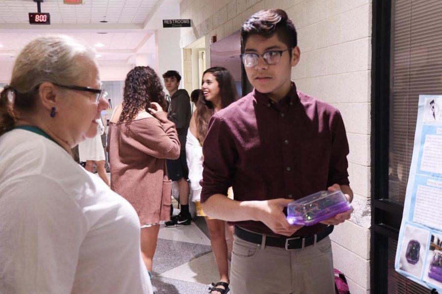 Freshman Gabriel Romero