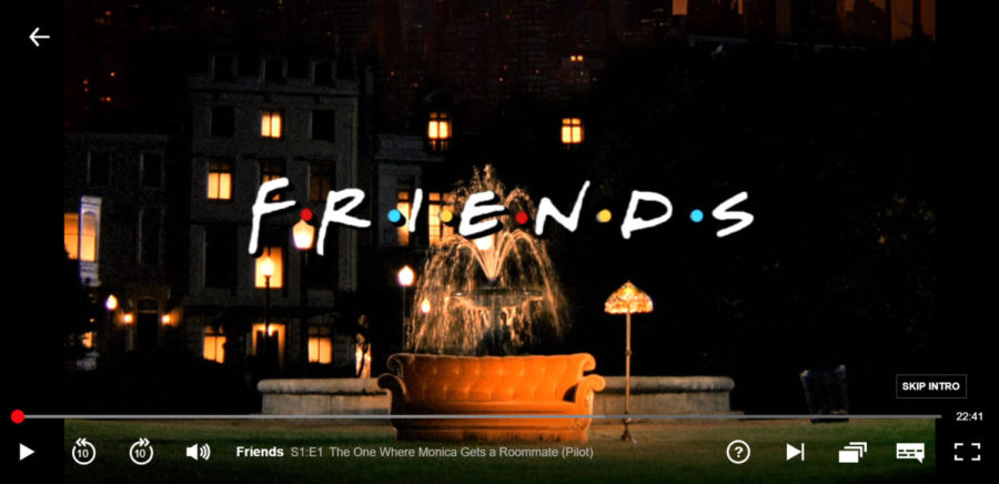 Sid+starts+his+Friends+re-run+for+the+seventh+time.+