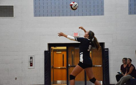 Varsity Volleyball scrimmage against the Page County Panthers
