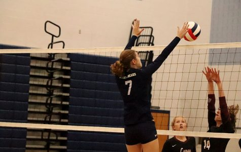 JV volleyball team loses first home game to Luray