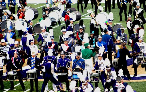 HHS Band participates in Band Day at JMU