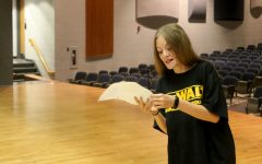 One Act hopefuls prepare during final audition workshop