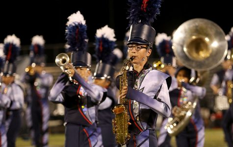 Marching band debuts new show, fresh look