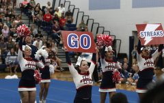 Competition cheer team places third at home invitational