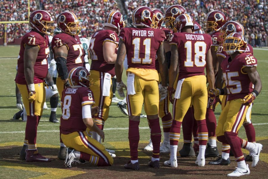 The+Redskins+logo+is+offensive+and+derogatory+toward+Native+Americans%2C+and+it%27s+time+for+it+to+be+changed.+