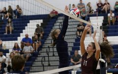 JV volleyball concedes game to Stuarts Draft