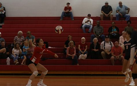 Varsity volleyball falls to Riverheads