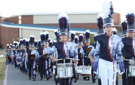 Marching Blue Streak Band dominates at back to back competitions