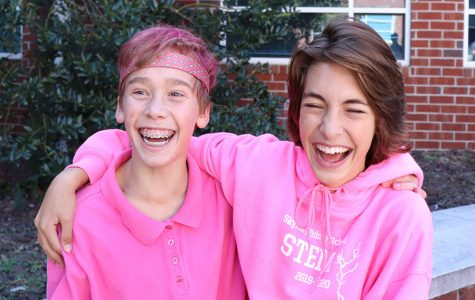 Students dress up for pink out