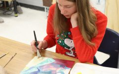 White develops visual art skills in Art 3