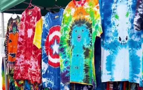 Walton creates, sells tie dye in spare time