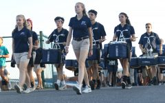 Marching Blue Streak Band finishes assessment strongly
