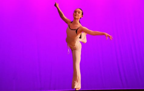 Dance classes perform at annual fall strings, percussion and dance concert