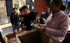 Summit Academy Teen Outreach Program collects donations for homeless
