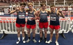 4×800 boys indoor track team qualifies for nationals