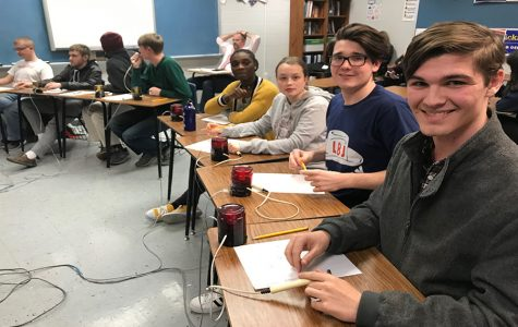 Academic team competes in scholastic bowl, expands knowledge and connections throughout team