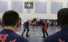 Underclassman standout in Wednesdays varsity wrestling triple header