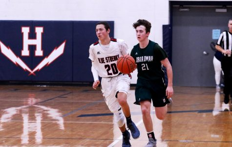 JV boys basketball falls to Broadway Gobblers