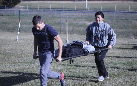 JROTC participate in Cadet Olympics