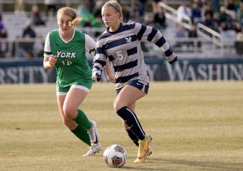 O'Fallon settles into collegiate soccer